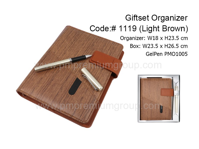 Giftset Organizer1119(Light Brown)