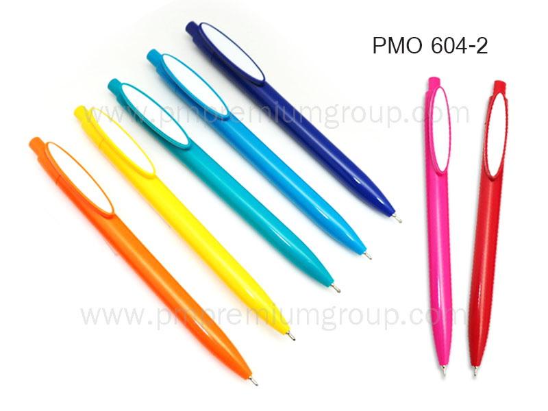 ปากกาลูกลื่นหมึกน้ำมัน PMO 604-2