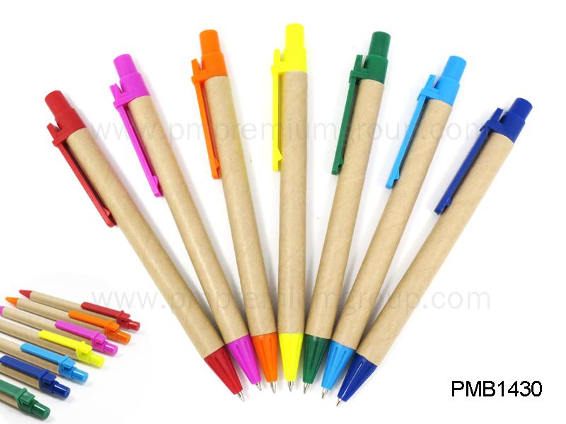 ปากกาลูกลื่นกระดาษรีไซเคิล PMB1430