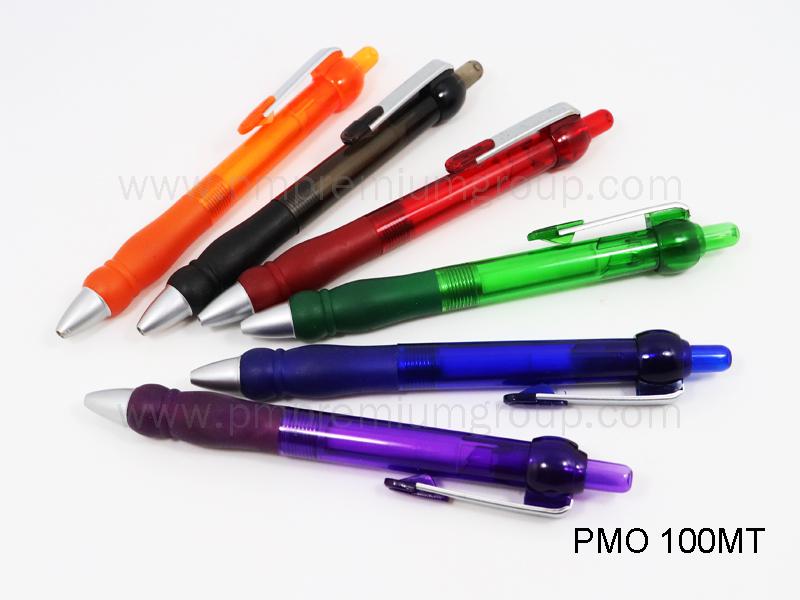 ปากกาลูกลื่นหมึกน้ำมัน PMO 100MT