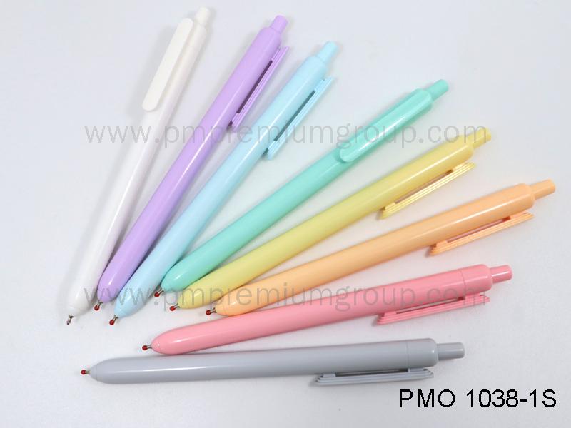 ปากกาลูกลื่นหมึกน้ำมัน PMO 1038-1S