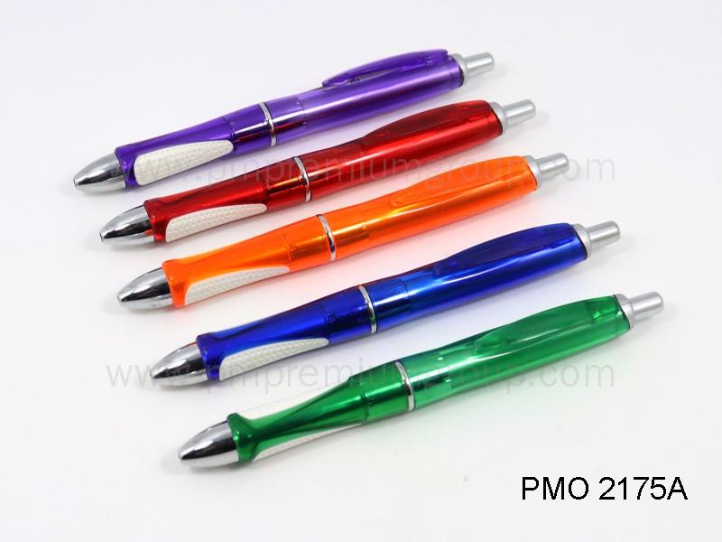 ปากกาลูกลื่นหมึกน้ำมัน PMO 2175A