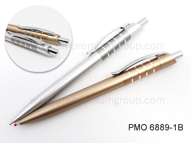 ปากกาลูกลื่่นหมึกน้ำมัน PMO 6889-1B