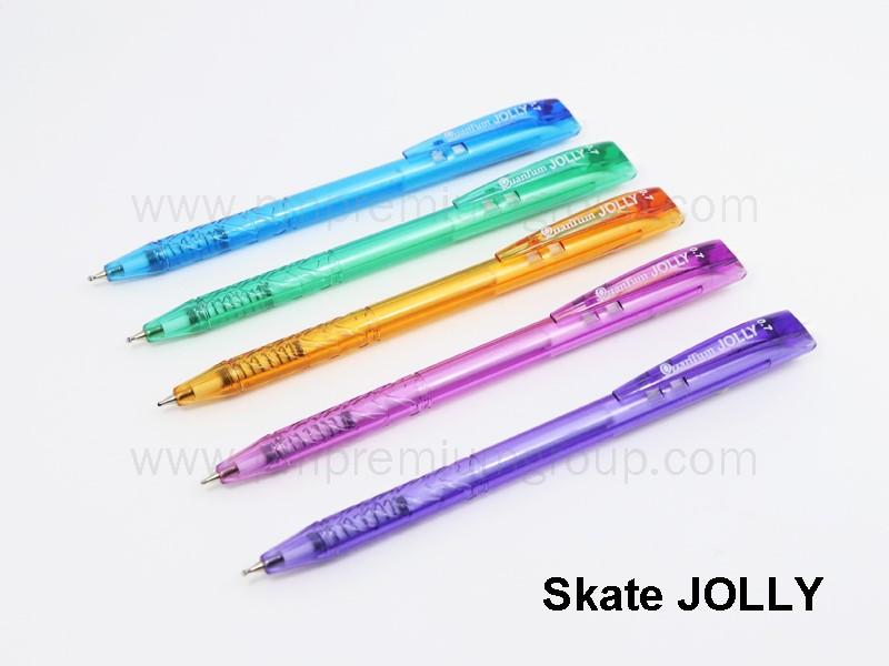 ปากกาลูกลื่นควอนตั้ม Skate JOLLY