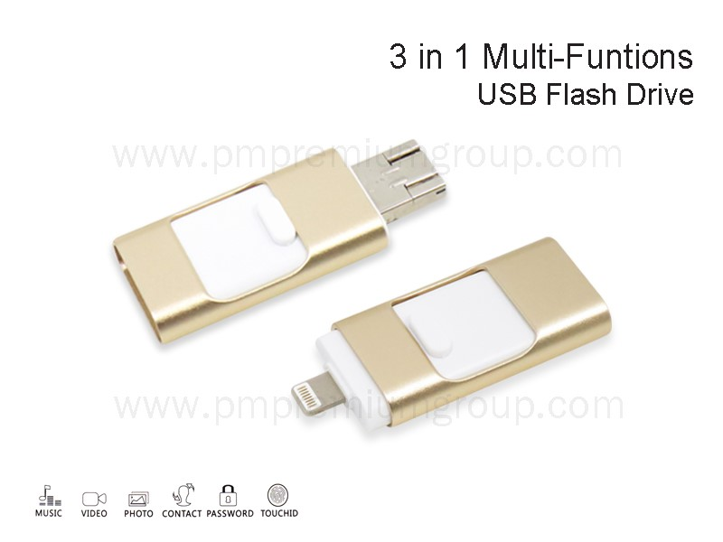 USB 3 IN 1 Multi-Functions